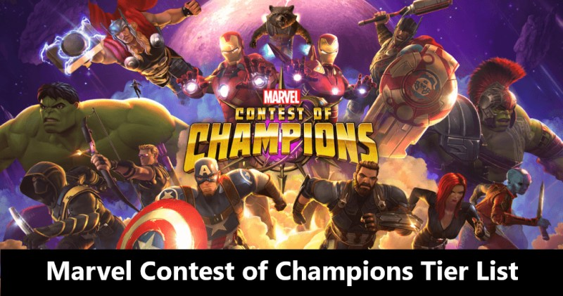 MCoC (Marvel Contest of Champions) Tier List